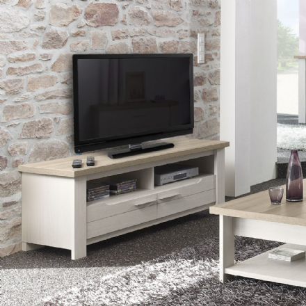 Grey Oak or White Ash TV Stand